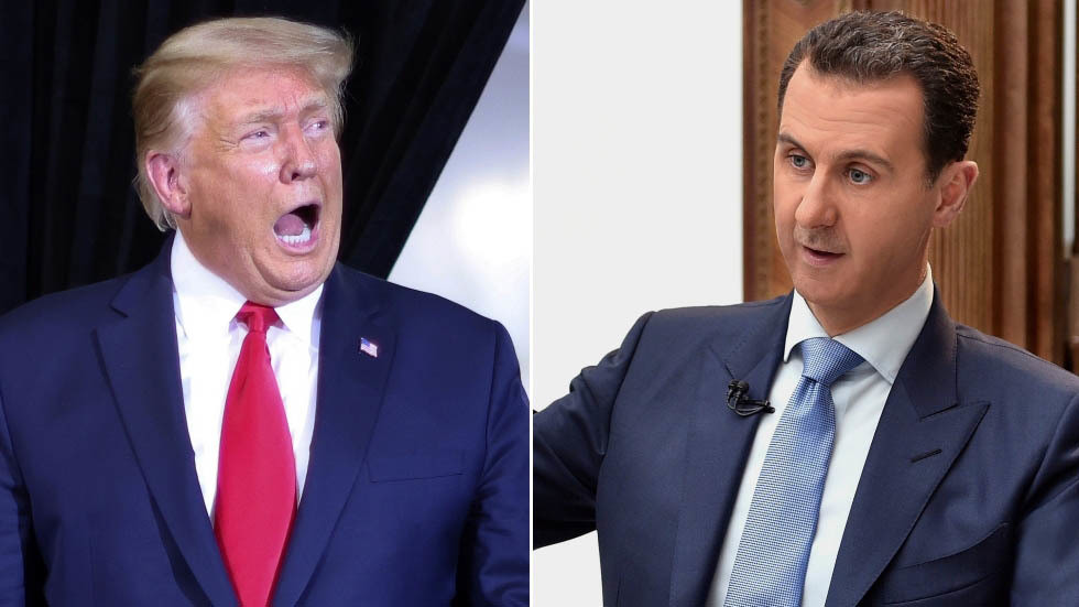 Trump says he wanted to assassinate Bashar al Assad .. BUT!