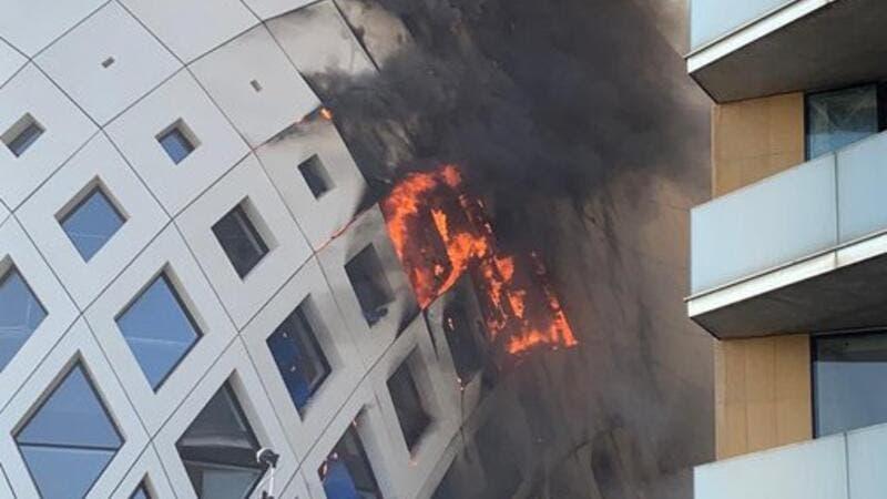 New Huge Fire Erupts in Beirut!