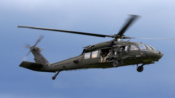 US Army Helicopter Crashes in Northern Syria