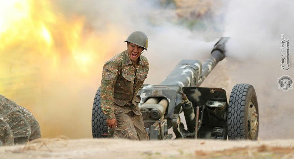 Karabakh Army Knocks Out 4 Attacking Azerbaijani Tanks South of Contact Line