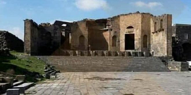 Imperial temple in Shahba.. witness to greatness of civilization in southern Syria
