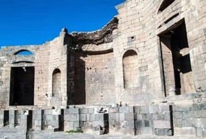 Imperial temple in Shahba .. witness to greatness of civilization in southern Syria