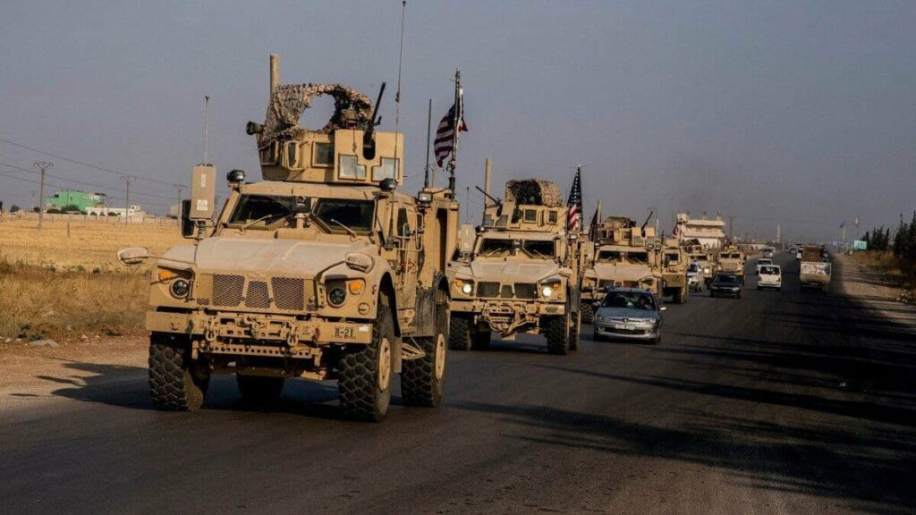 US army sends big military enforcements to Deir Ezzor