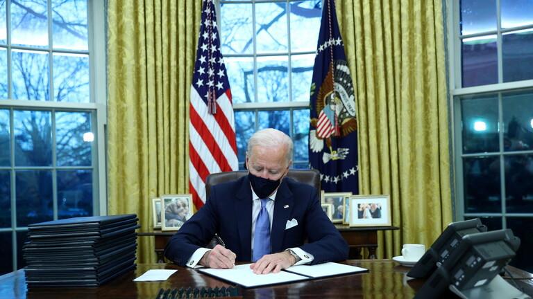 Biden signs executive order repealing Trump's 'Muslim ban'
