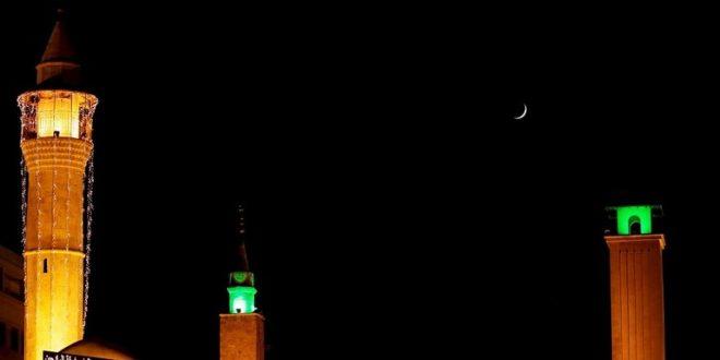 سوريا والأردن يعلنان غدا الجمعة أول أيام رمضان