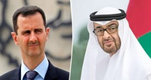 الاستدارة الكاملة لأبو ظبي نحو دمشق
