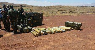 صواريخ وأسلحة أمريكية وغربية وأجهزة بث فضائي بقبضة الأمن السوري... فيديو