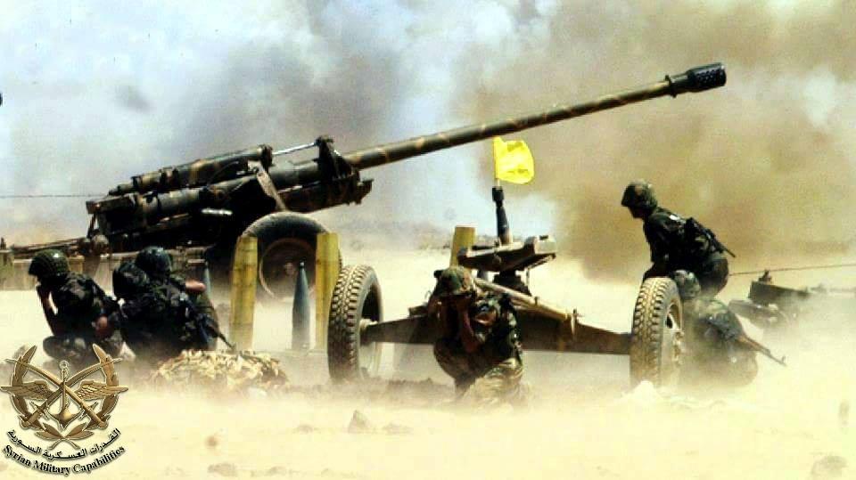 الجيش السوري يدك الإرهابيين بريف إدلب