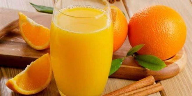 دراسة: كوب من عصير البرتقال يوميا يحميكم من مرض
