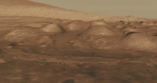 اكتشاف صورة تنين على سطح المريخ