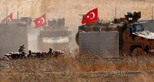 قتلى وجرحى بينهم جنود أتراك بانفجارة سيارة مفخخة في قرية الأهراس بشمال شرق سوريا