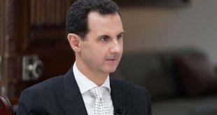 الأسد: أزمة كورونا فضحت فشل الأنظمة الغربية