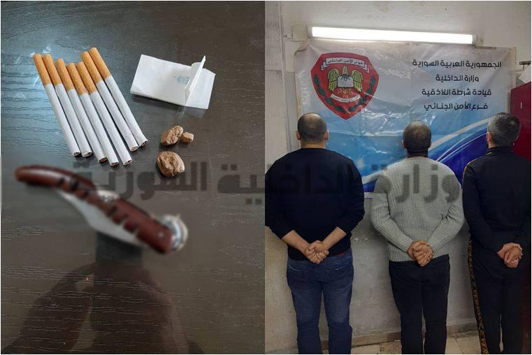 سارقو الشاليهات بقبضة فرع الأمن الجنائي في اللاذقية