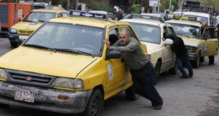 طوابير وأرتال السيارات أمام محطات الوقود تعود لمحافظة حماة