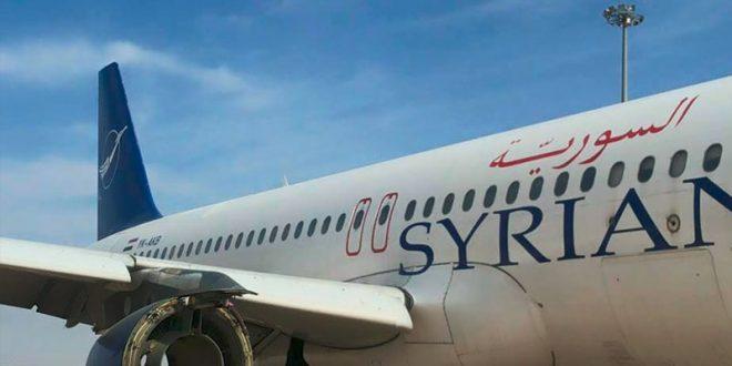 النقل تعلن تشغيل رحلات شحن جوي من وإلى سوريا