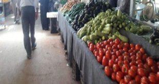 البندورة والخيار يتجاوزان 1200 ليرة للكيلو في درعا