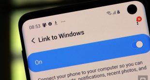 ويندوز 10 يدعم نقل الملفات لاسلكياً من وإلى هواتف سامسونج