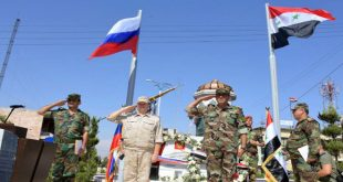 الجيشان الروسي والسوري يتدربان على حماية ميناء طرطوس من المخربين