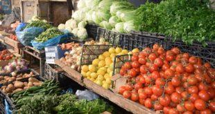 انخفاض كبير في أسعار الخضار والفواكه