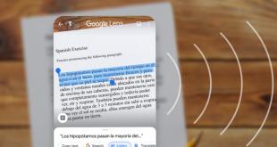 """عدسة جوجل """"Lens"""" تدعم الآن تحويل النص إلى صوت"""