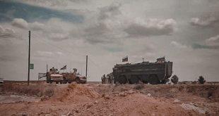 قوات أمريكية تعترض دورية روسية في ريف الحسكة