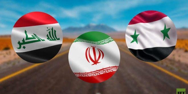 العربي الجديد: وقف العمل بمشروع الطريق الرابط بين إيران وسوريا عبر العراق
