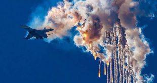 عرض جوي للطيارين الروس في سوريا.. شاهد!