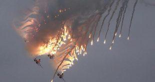 غارة روسية تحذيرية على حشود لمسلحين في جبل الزاوية