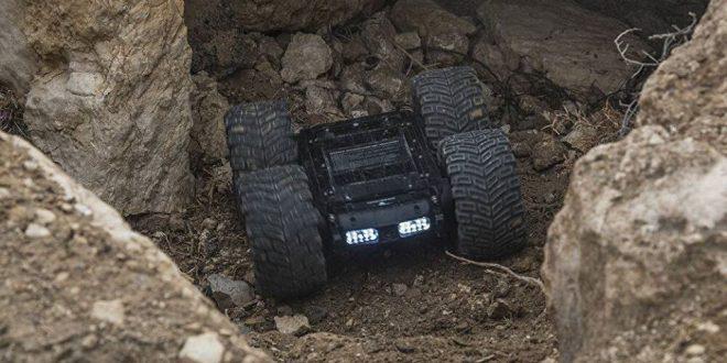 """إزالة الألغام بطريقة آمنة...الروبوت """"سكارابيي"""" في سوريا...فيديو"""