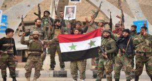 تحرير ضابط وعسكري في الجيش العربي السوري