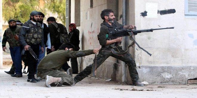 احتدام المعارك بين فصائل ريف دمشق وفرقة الحمزة بعفرين