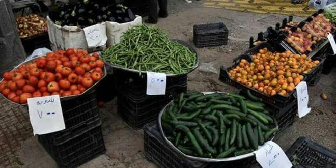 انخفاض أسعار الخضروات في أسواق حمص