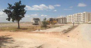 حلب تعيد تأهيل طريقي المطار ودمشق