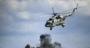 مقتل 4 جنود روس بتحطم مروحيتهم