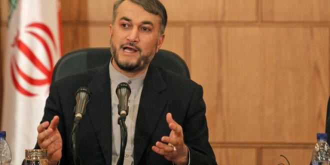 عبد اللهيان يكشف حقيقة الأنباء عن وجود اتفاق لإبعاد الأسد