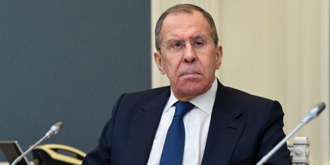 """لافروف يبحث مع المدير العام لـ""""الصحة العالمية"""" مساعدة سوريا في مكافحة كورونا"""
