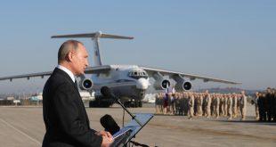بوتين يطلب تسليم الجيش الروسي منشآت ومناطق بحرية إضافية في سوريا