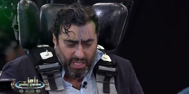 """باسم ياخور يضرب رامز بالحذاء..والجمهور """"أكثر حد تبهدل""""!"""