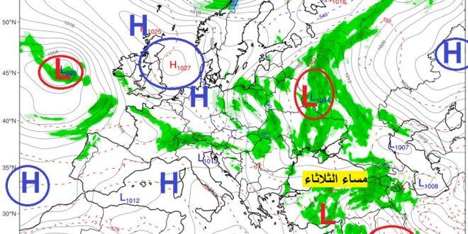 وكأننا في شهر شباط.. منخفض جوي يحمل أمطاراً غزيرة الى سوريا
