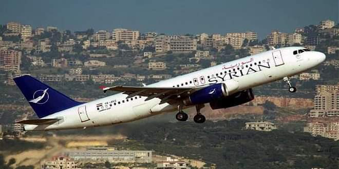 إعادة تشغيل رحلات الطيران بين دمشق والقامشلي لغاية 30 الجاري