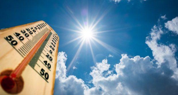 الحرارة أعلى من معدلاتها وأجواء سديمية حارة