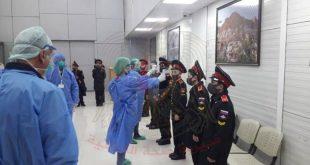 صحة اللاذقية تنقل 16 طالباً سورياً قادمين من روسيا إلى مركز الحجر في دمشق