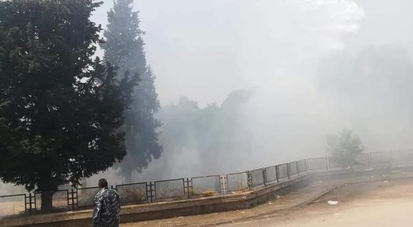 Screenshot 2020 05 28 18 حريقاً خلال يوم واحد في حمص تلفزيون الخبر اخبار سوريا
