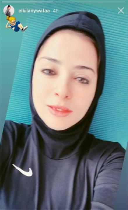 وفاء الكيلاني لأول مرة بالحجاب وبدون مكياج.. شاهد!