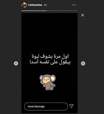 محمد وزيري لـ هيفا وهبي