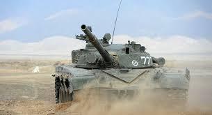 "رصد دبابة ""تي-72إم1"" عدرا في سوريا...صور"