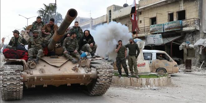 روسيا تشيد بالجيش السوري في حربه ضد الإرهاب