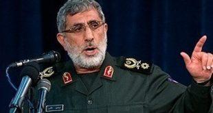 قائد فيلق القدس الإيراني يظهر في شرق سوريا متحدياً الولايات المتحدة