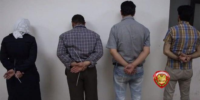 الأمن الجنائي يلقي القبض على أشخاص يحولون الأموال بطرق غير قانونية في دمشق