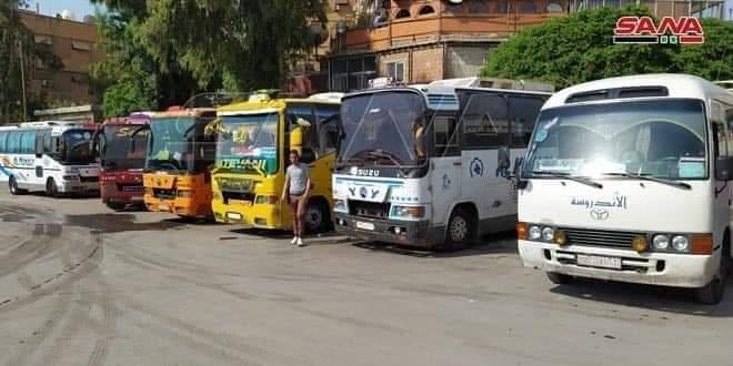 وزارة التجارة الداخلية ترفع أجور نقل البولمانات بين المحافظات